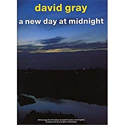 David Gray: A New Day At Midnight (PVG). Partitions pour Piano, Chant et Guitare(Boîtes d\'Accord)