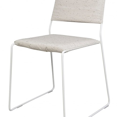 One Wire Chair Ok Chaise Blanc