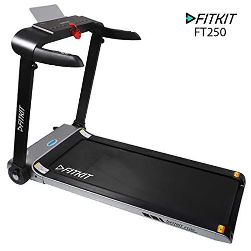 Fitkit FT250 2HP (4.5HP Peak) DC-Motorised Treadmill