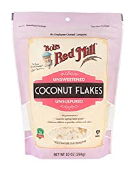 Bob's Red Mill Unsweetened Flaked Coconut, 10 Ounce