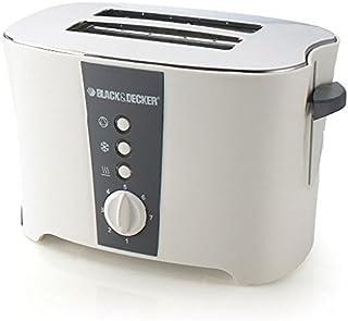 Black & Decker 2 Slice Cool Touch Toaster, White - ET122-B5