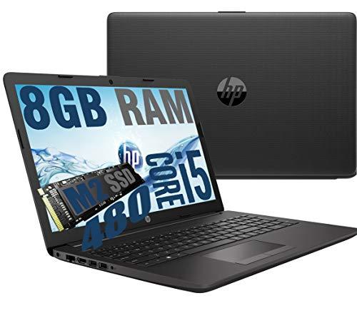 "Notebook HP i5 250 G7 Portatile Display Full HD da 15.6"" Cpu Intel Quad core i5-1035G7 1,6Ghz a 3,7Ghz /Ram 8Gb DDR4 /SSD M2 512GB /VGA INTEL UHD /Hdmi Dvd Rw Wifi Bluetooth /Windows 10 pro"