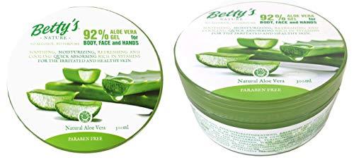 Store Soothing & Moisture Aloe Vera 92% Gel 300 Gramm paraben- und alkoholfrei