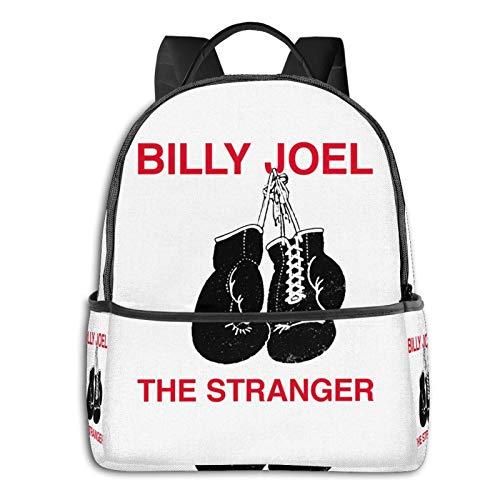 Billy Joel The Stranger Laptop Backpack Fashion Theme School Backpack
