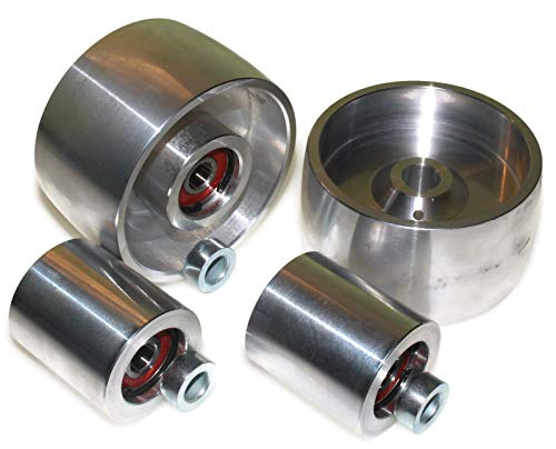 Smart Machines AL-4-4-19, 100 Drive-100 Tracking-50 Idler-19 mm Shaft
