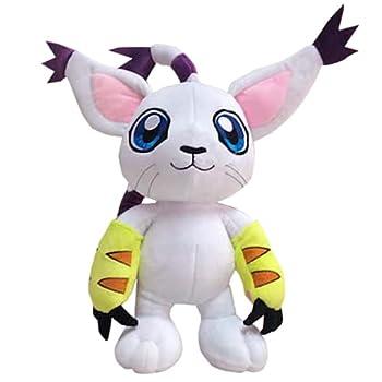 Digimon Adventure Plush Toy Agumon Piyomon Gabumon Tentomon Palmon Gomamon Patamon Tailmon Cute Anime Plushie Toys for Boys 30cm