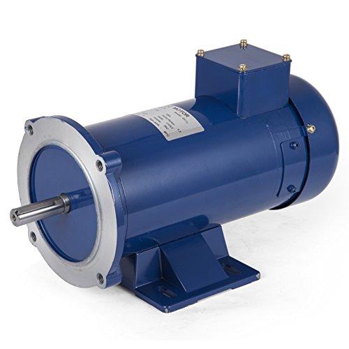 VEVOR 3/4 Hp DC Motor Rated Speed 1750 RPM 12V Electric Motor Permanent Magnet Motor