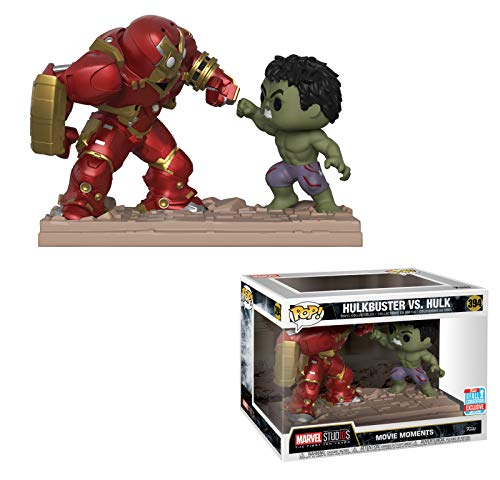 Funko Pop Hulkbuster vs Hulk (Los Vengadores: Infitiny War Movie Moments) Funko Pop Los Vengadores