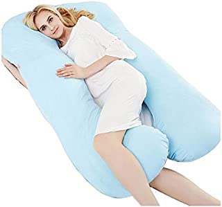Pregnancy Pillow Full Body Maternity Pillow 55Inch Comfort U  Body Back Support Nursing Maternity Pregnancy Pillow with Removable Cover