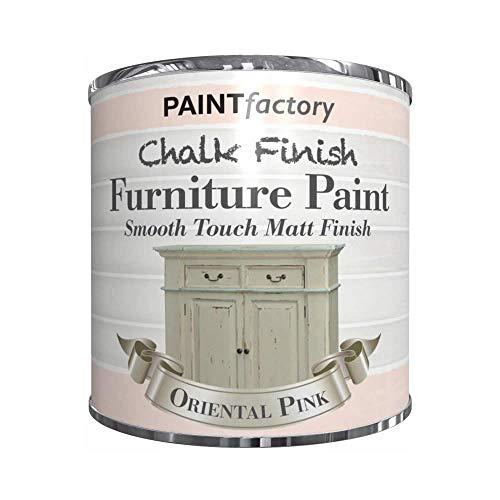 250 ml Kreidefarbe in Dose, glatte Oberfläche, matt Möbel, Vintage Haus Zuhause – orientalisches Pink