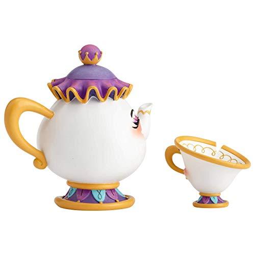 """Disney by Miss Mindy, Figura de Mrs Pott y Chip de """"La Bella y La Bestia"""", Enesco"""
