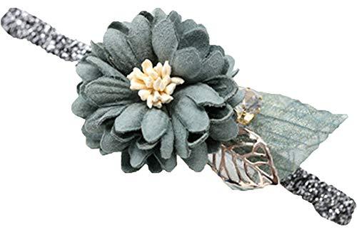 Élégant épingle à cheveux fleur accessoires de cheveux pince à ressort 1 pièce, vert