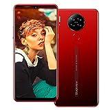 Blackview A80 (2020) Smartphone Offerta 4G - 6,21 pollici Android 10 2 GB RAM + 16 GB ROM,4200 mAh Batteria 13 MP + 8 MP Doppia fotocamera Dual SIM Telefono cellulare Rosso