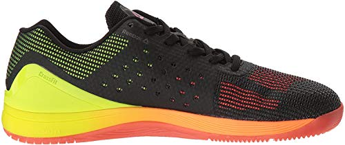 Reebok Men's CROSSFIT Nano 7.0 Cross-Trainer Shoe, Vitamin C/Solar Yellow/Black, 9 M US
