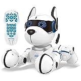 Lexibook- Power Puppy-Mi Perro Inteligente Robot programable con Mando a Distancia, Baile, Yoga, función de Entrenamiento, Canto