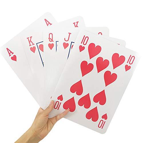 Yuanhe Super Jumbo Playing Cards   Amazon.com