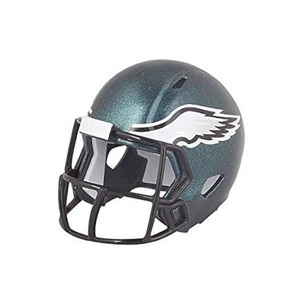 Riddell Casco de fútbol Americano de los Philadelphia Eagles de la NFL, de la Marca, versión Mini, tamaño Bolsillo