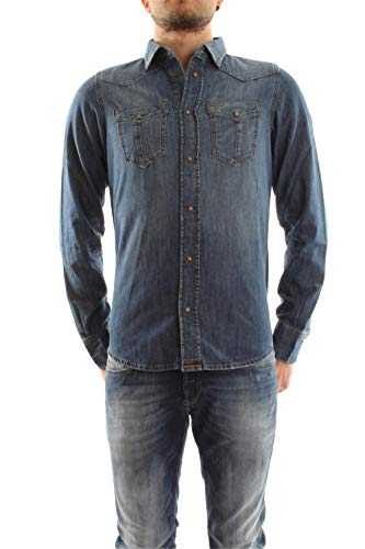 DIESEL 00SS2U 0QAPM D-BROOME MEDIUM AGED HEMD Harren MEDIUM AGED L