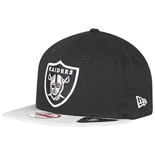 New Era NFL Cotton Block Oakland Raiders Gorra de béisbol, Hombre, Negro,...