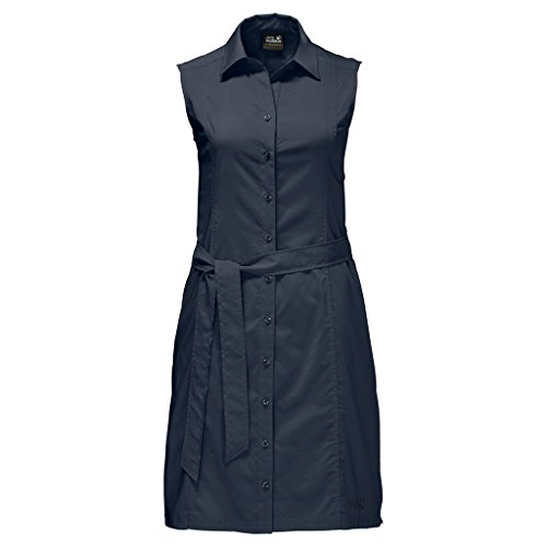 Jack Wolfskin Damen Kleid Sonora Dress, Midnight Blue, M, 1503991-1910003