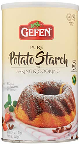 Gefen Pure Potato Starch, 24oz (1.5 lb Resealable Container) Gluten Free