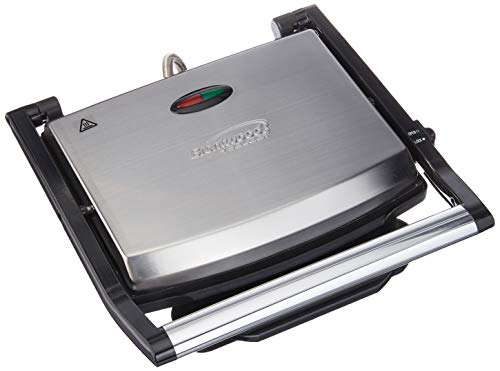 Brentwood Select TS-651 Non-Stick Panini Grill & Sandwich Maker, Stainless Steel