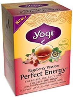 Yogi Teas Tea Rspbry Pssn Prfct Energy,16 Each (pack of 3)