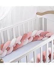 GUANSHAN 3M ny färg fyra trådar med vridning flätad säng orm nest orm för baby vävning spjälsäng baby stjärna, kantskydd huvudskydd, spjälsäng säng barnsäng stötfångare