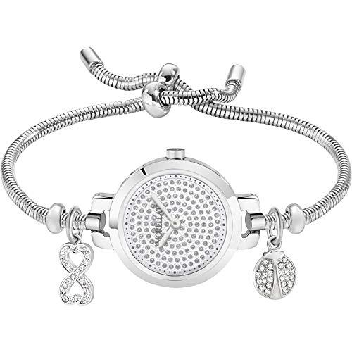 Morellato Drops Orologio da donna analogico al quarzo con cinturino in acciaio inox R0153122596