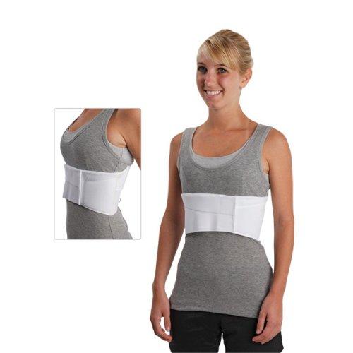 Össur Universal Elastic Rib - Rippenbandage - Rippengurt - medizinische Rückenbandage - therapeutische Unterstützung, Farbe:Weiss, Größe:Damen