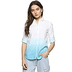 Campus Sutra Women Tie-Dye Casual Shirt