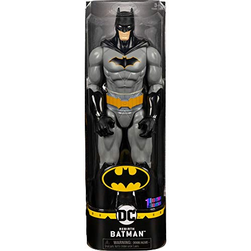 DC Comics Batman 30cm-Actionfigur - Batman Grey Rebirth
