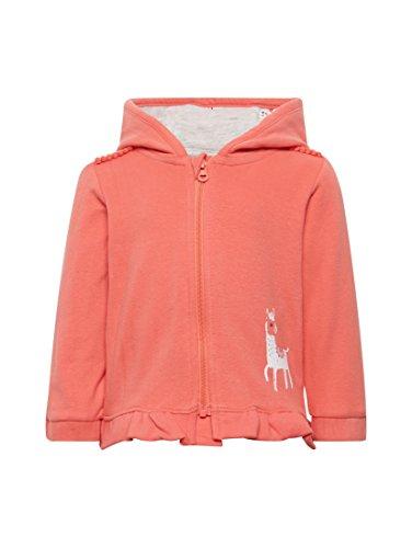 TOM TAILOR TOM TAILOR Mädchen Strick & Sweatshirts Sweatjacke mit Rüschensaum New Magnetic orange,68