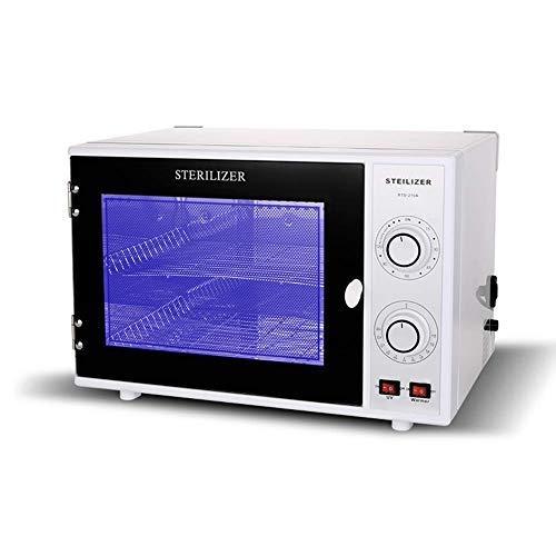 Esterilizador UV 25 L calentador de toallas, esterilizador de ozono, desinfectante, equipo esterilizador para herramientas de uñas, tijeras, herramientas de tatuaje y toalla, uso Salon Hotel Spa