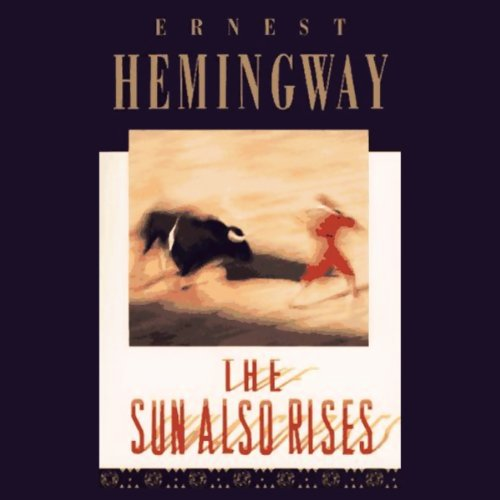 The Sun Also Rises audiobook cover art