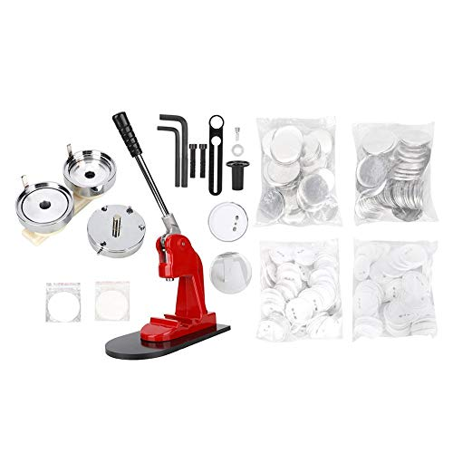 Best Price Qinlorgo Button Maker, 75mm Badge Making Machine Ergonomic Button Maker Commercial Pressi...