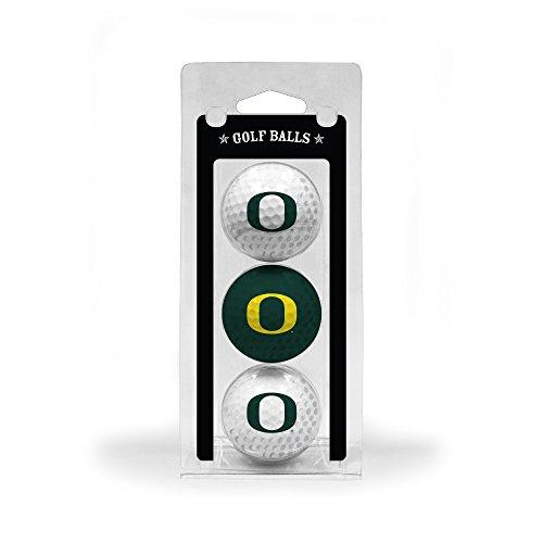 NCAA Oregon 3-Pack Team Golf Balls