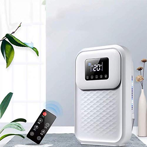 Electric Dehumidifier for Home,1500ml (51 oz) Capacity, Remote Control Mold Removal Quiet Safe Dehumidifiers for Apartment, Bedroom, Bathroom, RV, Closet
