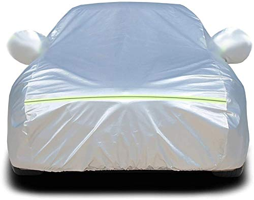 BAODAN Funda impermeable para coche de tela Oxford compatible con Kia Soul EV Spectra Spectra5 Sport