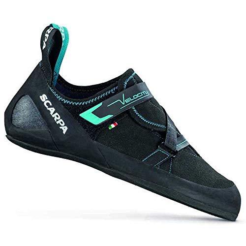 Scarpa Unisex Velocity Climbing Shoes, Black-Ottanio FFX, 9 UK