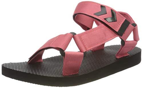 hummel Womens Strap Sandal Sneaker, Tea Rose,38 EU