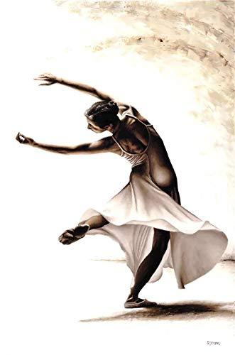 JHGJHK Yoga, Gimnasia, Ballet, Danza, Pintura, decoración del hogar, Estilo nórdico, Mural, Cartel, Europeo, Retro, Simple, Sala de Estar, decoración, Pintura (Imagen 11)