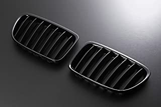 Import(インポート) キドニーグリル BMW X1 E84 09-UP グロスブラック