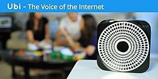 The Ubi Voice of The Internet, Black (Ubi-02) (B00P01F6FS)   Amazon price tracker / tracking, Amazon price history charts, Amazon price watches, Amazon price drop alerts