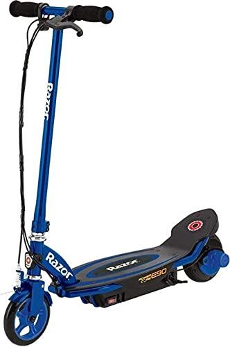 Razor Powercore E90 Scooter eléctrico, Unisex-Youth, Azul, One Size