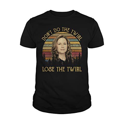 Uzubunki Camiseta vintage Don't Do The Twirl
