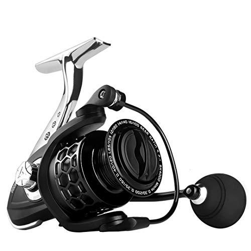 Carrete de Pesca GK1000-7000 Cuerpo de Metal Handle 8kg MAX Drag Spinning Reel Pesca Gk 3000 Series