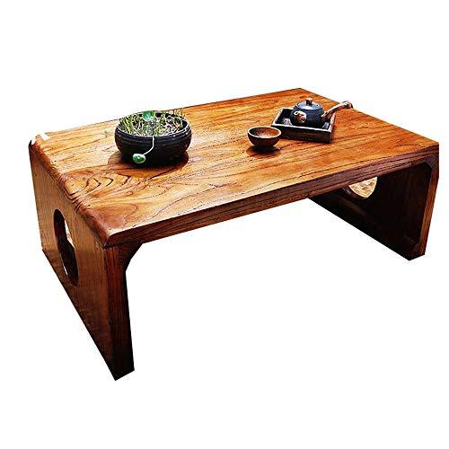WMDXTM Massivholz-Esstisch, Holz dekorative Möbel, Geeignet for Wohnzimmer Schlafzimmer Kleiner Tischchen 50 * 35 * 30 cm, 60 * 40 * 30 cm (Size : 50 * 35 * 30cm)