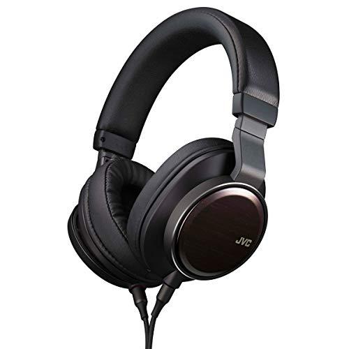 JVC Wood Series Hi-Res Over-Ear Headphones, Wood Dome Driver Unit, Multi...