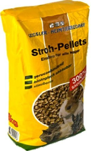 60 l = 24 kg Strohpellets, Pellets, Nagerfutter, Futter